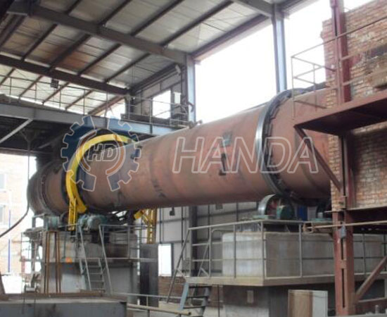 Rotary Kiln for Fly ash recycling