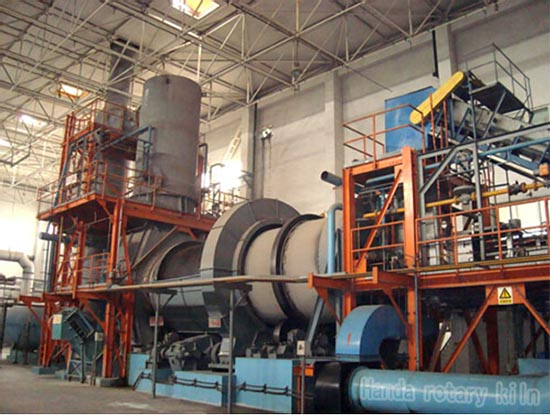 Rotary kiln incinerator hazardous waste incineration plant for Household incinerator design