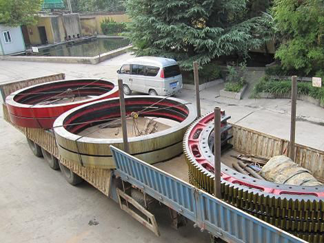 rotary kiln rolling ring